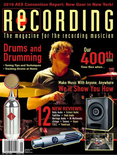 recording-magazine-cover-jan-2020